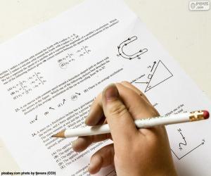 Puzzle de Problemas de física