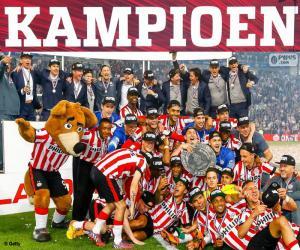 Puzzle de PSV Eindhoven campeón 2014-2015