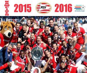 Puzzle de PSV Eindhoven, campeón15-16