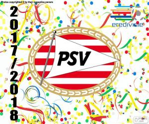 Puzzle de PSV Eindhoven, Eredivisie 2017-18