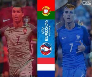 Puzzle de PT-FR, final Euro 2016