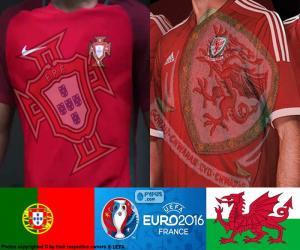 Puzzle de PT-Gales, semifinales Euro 2016
