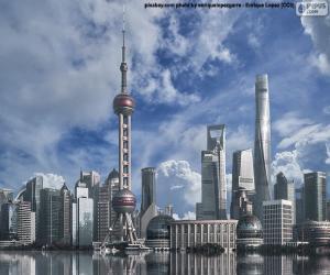 Puzzle de Pudong, Shanghái