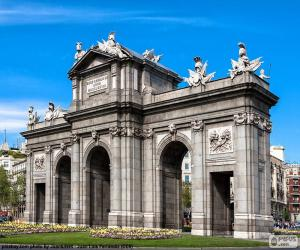 Puzzle de Puerta de Alcalá, Madrid