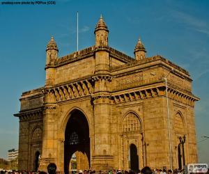 Puzzle de Puerta de la India, Bombay