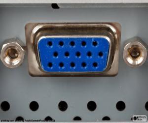 Puzzle de Puerto o conector VGA