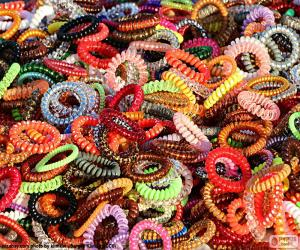 Puzzle de Pulseras de colores