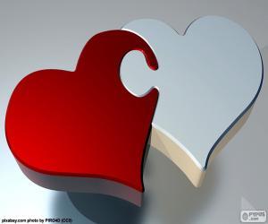 Puzzle de Puzzle corazones