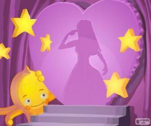 Puzzle de Pypus admirando las princesas de Disney