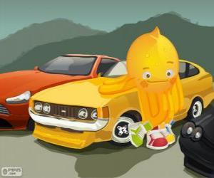 Puzzle de Pypus con unos bonitos coches