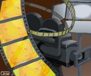 Puzzle de Pypus en los fotogramas de una película