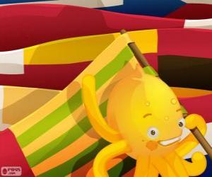Puzzle de Pypus y las banderas