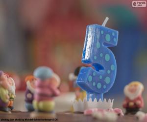 Puzzle de Quinto cumpleaños