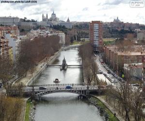 Puzzle de Río Manzanares, Madrid