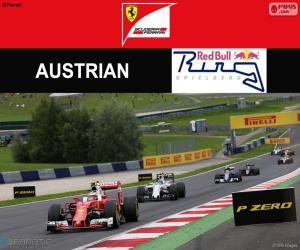 Puzzle de Räikkönen, G.P Austria 2016