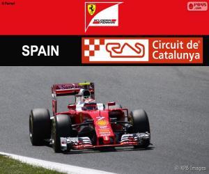 Puzzle de Räikkönen, G.P España 2016