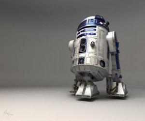 Puzzle de R2-D2, droide astromecánico i amigo de C-3PO (llamado: Arturito o erre dos-de dos)