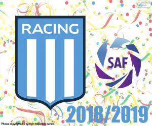Puzzle de Racing Club, campeón 2018-2019