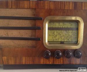 Puzzle de Radio antigua