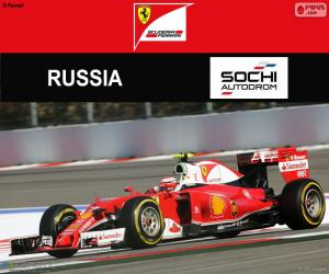 Puzzle de Raikkonen, G.P Rusia 2016
