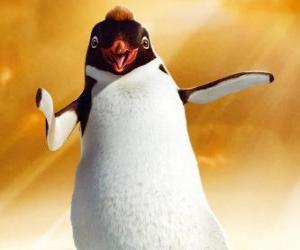 Puzzle de Ramon, el pingüino líder del club Los Amigos