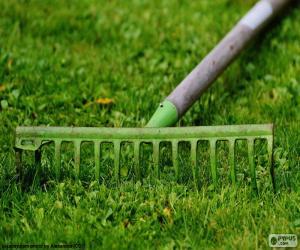 Puzzle de Rastrillo de jardinero