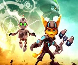 Puzzle de Ratchet y el robot Clank