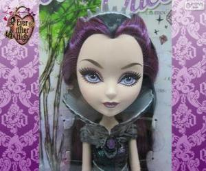 Puzzle de Raven Queen, líder de Rebels en Ever After High