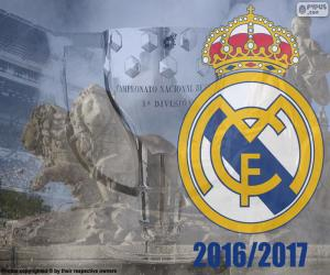 Puzzle de Real Madrid, campeón 2016-2017