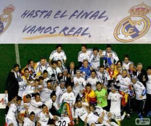 Puzzle de Real Madrid campeón Copa del Rey 2013-2014