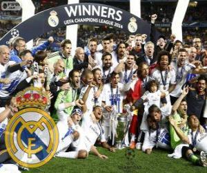 Puzzle de Real Madrid, campeón de la Liga de Campeones de la UEFA 2013-2014