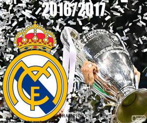 Puzzle de Real Madrid, Champions 2016-2017