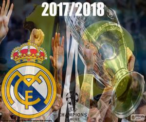 Puzzle de Real Madrid, Champions 2017-2018