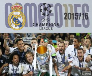 Puzzle de Real Madrid, Champions15-16