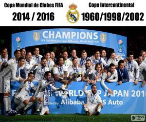 Puzzle de Real Madrid, Copa FIFA 2016