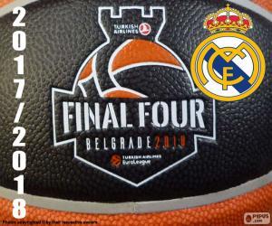 Puzzle de Real Madrid, Euroleague 2018