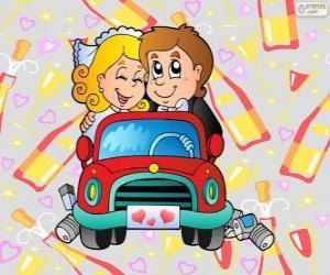 Puzzle de Recién casados