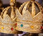 Corona del rey o corona real abierta