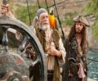 Pirata al timón