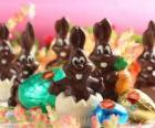 Conejitos de chocolate