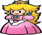 Hermosa princesa con su corona