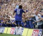 Didier Drogba celebrando un gol