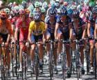 Lance Armstrong en el pelotón