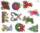 Dibujos Adornos de Navidad