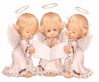 Tres ángeles cantando