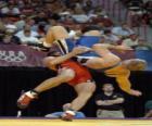 Lucha - Dos luchadores en un combate