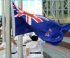 Bandera de Nueva Zelanda o Nueva Zelandia