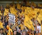 Bandera del Wolverhampton Wanderers F.C.