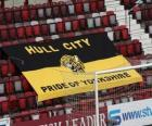 Bandera del Hull City A.F.C.