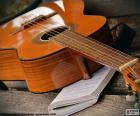Guitarra acústica de seis cuerdas